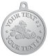 Ace Recognition Pewter KeyTag, Medal, Pendant - with your text and logo - all terrain vehicles, atv, atvs, off road, off-road, 4-wheeler, atv, bike,drive, fast, four, machine, motocross, off-road, power, powerful, quad, race, red, ride, road, sky, sport, tires, tool, traction, trail, transport, transportation, wheel