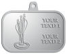 Ace Recognition Pewter KeyTag, Medal, Pendant - with your text and logo - darts, archery, arrows, bullseye, fun, games, success, targets, triumph, win, leisure, luck, mark, success, target, triumph, win