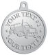 Ace Recognition Pewter KeyTag, Medal, Pendant - with your text and logo - tanker trucks, tank trucks, truck tankers, truck tanks, carriers, haulers, transportationvvvvvv