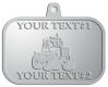 Ace Recognition Pewter KeyTag, Medal, Pendant - with your text and logo - cab enclosures, machines, industrial equipment, construction machinery, cabs