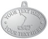 Ace Recognition Pewter KeyTag, Medal, Pendant - with your text and logo - service trucks, crane trucks, aerial equipment, bucket trucks, utility equipment, bucket cranes, booms, telescopic booms