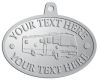 Ace Recognition Pewter KeyTag, Medal, Pendant - with your text and logo - RV, RVs, Recreational Vehicles, Motorhomes, motors, motor-homes, motorhomes, recreation, recreational, retire, retirement, tours, trailers, transportation, travel, travelers, trips, trucks, vacations, vans, vehicles, voyages, wheels