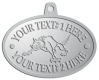 Ace Recognition Pewter KeyTag, Medal, Pendant - with your text and logo - Sports, mascots, animals, wolf, wolves, teams, high school, college, university