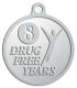 Ace Recognition Pewter KeyTag, Medal, Pendant - with your text and logo - recovery, recovery celebration, recovery milestones, motivational, drug free, drug recovery