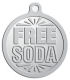 Ace Recognition Pewter KeyTag, Medal, Pendant - with your text and logo - free, tokens, free tokens, free soda, soda, soda tokens