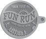 Ace Recognition Pewter KeyTag - with your text and logo - athletes, athletics, cause, charity, city, compete, competition, exercise,  health, healthy, international, jog, life, lifestyle, people, races, sports, fun run