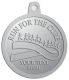 Ace Recognition Pewter KeyTag, Medal, Pendant - with your text and logo - attitude, awareness, breast, cancer, celebrate, celebration, challenge, charity, courageous, health, hope, marathon, medical, miracle, pink, race, recover, recovery, ribbon, run, support, survival, survive, survivor, symbol, symbolic, therapy
