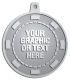 Ace Recognition Pewter KeyTag, Medal, Pendant - with your text and logo - Poker - your own text or graphic,  bet, betting, cash, casino, chance, chip, gamble, gambling, games,   lottery, money,  play, poker, risk, success, wager,  win, winner