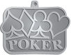Ace Recognition Pewter KeyTag, Medal, Pendant - with your text and logo - Poker - hearts - diamonds - clubs - spades card, casino, chance, club, design, diamond, element, gambling, game, graphic, heart, icon, illustration, leisure, luck, play, playful, poker, set, shape, simple, spade