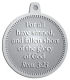 Ace Recognition Pewter KeyTag, Medal, Pendant - with your text and logo - Christian Designs - For all have sinned, and fallen short of the glory of God.  Romans 3:23  religious, metal