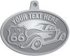 Ace Recognition Pewter KeyTag, Medal, Pendant - with your text and logo - Car designs - US route 66 - vintage cars - classic cars - coupe - sports car - your text, route 66, route sixty six, route sixty-six, historic highway, historic road, mother road