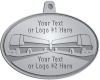 Ace Recognition Pewter KeyTag, Medal, Pendant - with your text and logo - Bus Designs - your text, buses, bus, transportation, metal