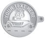 Ace Recognition Pewter KeyTag - with your text and logo - Car Designs - US route 66 - classic car - roadster - vintage cars - coupe - your text, transportation, metal
