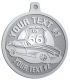 Ace Recognition Pewter KeyTag, Medal, Pendant - with your text and logo - Car Designs - classic car - roadster - vintage cars - corvette - sports car - your text, transportation, metal