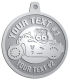 Ace Recognition Pewter KeyTag, Medal, Pendant - with your text and logo - Motorcycle Designs - US 66 - route 66 - motorcycle - your text,   chopper, motorcycles, motor bikes, racing, motor, motorsports, motor-sports, transportation, metal