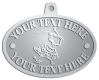 Ace Recognition Pewter KeyTag, Medal, Pendant - with your text and logo - Sports, mascots, sports, birds, teams, high school, college, university