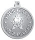 Ace Recognition Pewter KeyTag, Medal, Pendant - with your text and logo - Sports, mascots, martial arts, warriors, high school, college, university