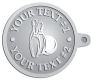 Ace Recognition Pewter KeyTag - with your text and logo - bowling, bowling pins, bowling balls, bowling-ball, games,  kingpin, lane, leisure, pins, sport