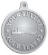Ace Recognition Pewter KeyTag, Medal, Pendant - with your text and logo - trucks, haulers, haul, delivery, cargo, carriers, transportation, transport trucks, transport, container trucks