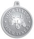 Ace Recognition Pewter KeyTag, Medal, Pendant - with your text and logo - tractors, farm equipment, farm machinery, farm machines, field implements, farm implements