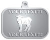 Ace Recognition Pewter KeyTag, Medal, Pendant - with your text and logo - farm, farming, lambs, sheep, wool, young, animals, easter, animals, cattle, domestic, ewes, farms, fleece, fleecy,  livestock, mammal, mutton, ram, sheep, white, wool, woollen