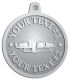 Ace Recognition Pewter KeyTag, Medal, Pendant - with your text and logo - RV, RVs, Recreational Vehicles, campers, camping, motors, motor-homes, motorhomes, recreation, recreational, retire, retirement, tours, trailers, transportation, travel, travelers, trips, trucks, vacations, vans, vehicles, voyages, wheels