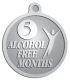 Ace Recognition Pewter KeyTag, Medal, Pendant - with your text and logo - recovery, recovery celebration, recovery milestones, motivational, alcohol free, sobriety