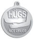 Ace Recognition Pewter KeyTag, Medal, Pendant - with your text and logo - recovery, drug recovery, drugs, hugs not drugs