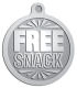 Ace Recognition Pewter KeyTag, Medal, Pendant - with your text and logo - free, tokens, free snacks, snacks, snack tokens