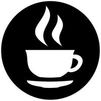Custom pewter or zinc Plaque - customized and personalized your way - coffee, hot beverages, tea, hot chocolate, beverages