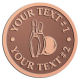 Ace Recognition Copper Buckle - with your text and logo - bowling, bowling pins, bowling balls, bowling-ball, games,  kingpin, lane, leisure, pins, sport