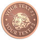 Ace Recognition Copper Buckle - with your text and logo - Sports, mascots, sports, animals, cats, tigers, felines, teams, high school, college, university