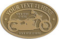 Ace Recognition Gold Buckle - with your text and logo - Motorcycle Designs - motorcycle - your text,   chopper, motorcycles, motor bikes, racing, motor, motorsports, motor-sports, transportation, metal