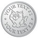 Ace Recognition Pewter Buckle - with your text and logo - Sports, mascots, cats, felines, high school, college, university