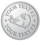 Ace Recognition Pewter Buckle - with your text and logo - Sports, mascots, animals, pigs, teams, high school, college, university