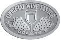 Ace Recognition Pewter Buckle - with your text and logo - Winery, sommelier, wine glasses, grapes, alcohol, beverages, celebrations, cellars, classical, corks, drinks, food, fruit, goblets, grapes, grapevines, restaurant, romantic, tavern, vintage, vine, wine tasting, wine-testers, wine testers