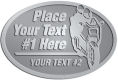 Ace Recognition Pewter Buckle - with your text and logo - Motorcycle Designs - your text,   chopper, motorcycles, motorbikes, motor bikes, motor-bikes, charity, fundraising, transportation, metal