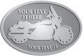 Ace Recognition Pewter Buckle - with your text and logo - Motorcycle Designs - motorcycle - your text,   chopper, motorcycles, motor bikes, racing, motor, motorsports, motor-sports, transportation, metal