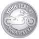 Ace Recognition Pewter Buckle - with your text and logo - Motorcycle Designs - motorcycle - bike  chopper,  - your text, transportation, metal