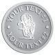 Ace Recognition Pewter Buckle - with your text and logo - Sports, mascots, sports, tigers, teams, high school, college, university