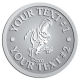 Ace Recognition Pewter Buckle - with your text and logo - Sports, mascots, dinosaurs, high school, college, university