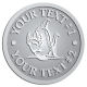 Ace Recognition Pewter Buckle - with your text and logo - Sports, mascots, fish, sharks, high school, college, university