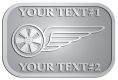 Ace Recognition Pewter Buckle - with your text and logo - bikers, bikes, flying, gear, grunge, grungy, moto, motors, motorbike, motorcycles, motorsport, motox, races, racers, recreation, rides, riders, rim, safety, speed, start, track, transport, transportation, tyre,  vehicles, wheel, wings